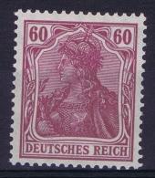Deutsches Reich: Mi Nr 92 I A   MH/*