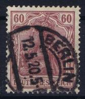 Deutsches Reich:  Mi Nr 92 II CBPP Signiert /signed/ Signé  Used