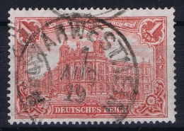 Deutsches Reich:  Mi Nr 94 A II BPP Signiert /signed/ Signé  Used - Gebraucht