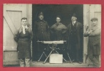 Camp D' Elsenborn - Préparatif Pour Le Tir à La Mitrailleuse - Carte Photo - 1928 ( Voir Verso ) - Elsenborn (camp)
