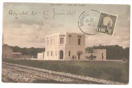 Tunisie - Baie Ponty Hotel Des Postes Cachet Bizerte 1913 Et La Pecherie - Túnez