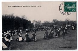Morbihan Le Bal De La Noce 1910 état Superbe - France