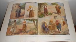 Costumes Des Balkans.  Photogravure. 1914. - Albania