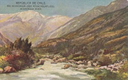 POSTAL DE CHILE DEL RIO ACONCAGUA (DE BUENOS AIRES A VALPARAISO VIA CORDILLERA) - Chile