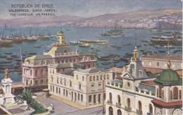 POSTAL DE CHILE DE LA BAHIA DE VALPARAISO (DE BUENOS AIRES A VALPARAISO VIA CORDILLERA) - Chile