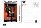 Czech Republic 2015 - Alain Delon, Film Black Tulip, Special Postcard, MNH