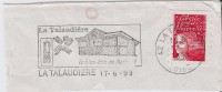 FRANCE. FRAGMENT POSTMARK LA TALAUDIERE. 1999. FLAMME - Marcofilia (sobres)