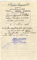 PARIS 10  ORFEVRES  CAILAR BAYARD   FACTURE 1925 - Petits Métiers