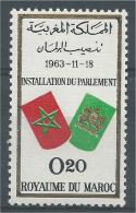 Morocco, Moroccan Parliament,  1963, MH VF - Morocco (1956-...)