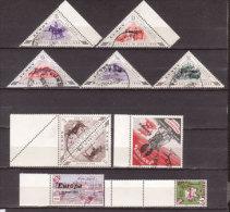 Grossbritannien , Lokalmarken , Herm / Lundy 10 Marken O / Used - Ortsausgaben