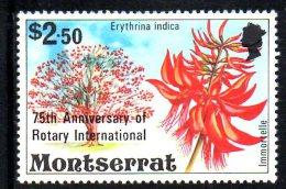 Y1411 -  MONTSERRAT. 1980. 75th ANNIVERSARY OF THE ROTARY  ***  MNH - Montserrat