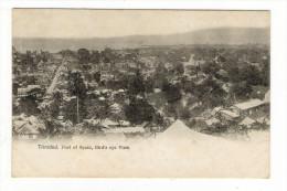 TRINIDAD  /  PORT  OF  SPAIN  , BIRD' S  EYE  VIEW  ( Vue Générale Aérienne ) /  CPA  PRECURSEUR  ( éditée Avant 1904 ) - Trinidad