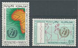 Morocco, Meteorology,  1964, MH VF - Morocco (1956-...)