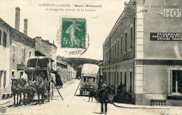 43  SAINT BONNET LE FROID ROUTE NATIONALE PASSAGE DES VOITURES DE LA LOUVESE - Sonstige Gemeinden