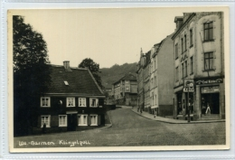 Germany Wupertal Barmem Klingelpoll Real Photo Postcard 1955 North Rhine Westphalia - Wuppertal