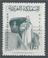 Morocco, Return Of The King Mohammed V, 5th Anniv.,  1965, MH VF - Morocco (1956-...)