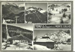 Temù (Brescia, Lombardia) La Seggiovia Di Monte Calvo, Vedute Varie - Brescia