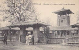 Afrique -  Soudan - Ferme Soudanaise - Exposition Coloniale Marseille - Soudan