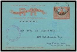 HAITI. Cartas. 1918. P Prince - USA / SF. 2c Red Stat Card Used + Censor / 2. VF.. Best Exchange Rate - Haïti