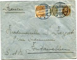 DANEMARK LETTRE DEPART CHARLOTTENLUND 26-5-03 POUR LA FRANCE - 1864-04 (Christian IX)
