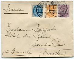 DANEMARK LETTRE DEPART CHARLOTTENLUND 6-8-03 POUR LA FRANCE - 1864-04 (Christian IX)