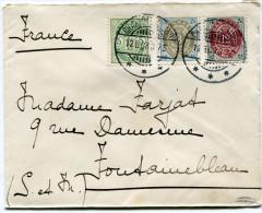 DANEMARK LETTRE DEPART CHARLOTTENLUND 12-6-03 POUR LA FRANCE - 1864-04 (Christian IX)