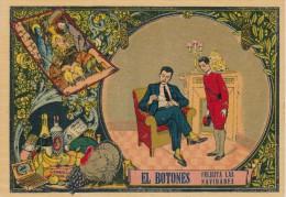 POSTAL DE FELICITACION DE EL BOTONES FELICITA LAS NAVIDADES (NAVIDAD-CHRISTMAS) - Publicité
