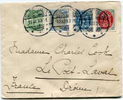 DANEMARK LETTRE DEPART CHARLOTTENLUND 12-8-03 POUR LA FRANCE - 1864-04 (Christian IX)
