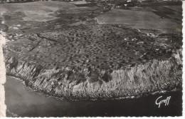 62A063 CPSM PF 62 - CAP GRIZ NEZ  VUE AERIENNE LES FALAISES DU CAP    1956 - France