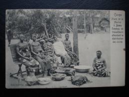 Cpa/pk Congo Place De La Marine à Boma Femmes De Travailleurs Attendant La Distribution Des Vivres - Congo Belge - Autres