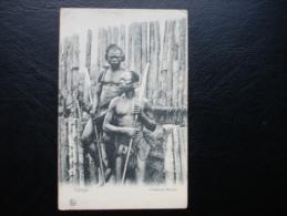 Cpa/pk Congo Indigènes Bazoko - Congo Belge - Autres