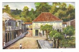PORTO  RICO  ( PUERTO-RICO ) /  AGUADILLA  /  POST  OFFICE  /  Edit. RAPHAEL TUCK & Sons  /  OILETTE , Serie N° 7725 - Puerto Rico