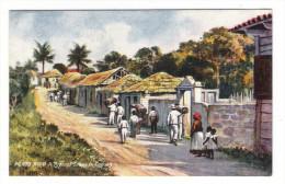 PORTO  RICO  ( PUERTO-RICO ) /  A  TYPICAL  SCENE  IN  CAGUAS  /  Edit. RAPHAEL TUCK & Sons  /  OILETTE , Serie N° 7725 - Puerto Rico