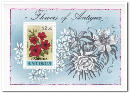 Barbuda, Postfris MNH, Flowers - Antigua En Barbuda (1981-...)