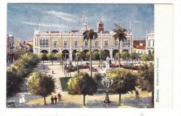 CUBA  /  HAVANA  /  PRESIDENT ' PALACE  ( PLAZA  DE  ARMAS ) /   Edit. RAPHAEL TUCK & Sons  /  OILETTE , Serie N° 7729 - Cuba