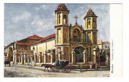 "CUBA  /  HAVANA  /  IGLESIA DEL CRISTO  ( The ""HUMILLADERO""  ) /   Edit. RAPHAEL TUCK & Sons  /  OILETTE , Serie N° 7729 - Cuba"