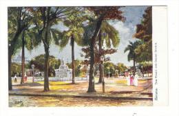 CUBA  /  HAVANA  /  THE  PRADO  AND  INDIAN  STATUE  /   Edit. RAPHAEL TUCK & Sons  /  OILETTE , Serie N° 7729 - Cuba