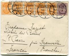DANEMARK LETTRE DEPART CHARLOTTENLUND 4-8-03 POUR LA FRANCE - 1864-04 (Christian IX)