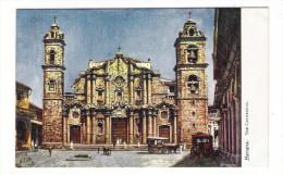 CUBA  /  HAVANA  /  THE  CATHEDRAL  ( De La Virgen Maria )  /   Edit. RAPHAEL TUCK & Sons  /  OILETTE , Serie N° 7729 - Cuba