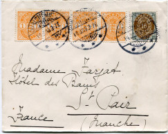 DANEMARK LETTRE DEPART CHARLOTTENLUND 14-8-03 POUR LA FRANCE - 1864-04 (Christian IX)