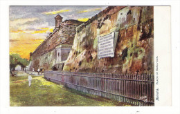 "CUBA / HAVANA / THE PLACE OF EXECUTION ( ""garrote"" = Guillotine ) /  Edit. RAPHAEL TUCK & Sons / OILETTE , Serie N° 7730 - Cuba"