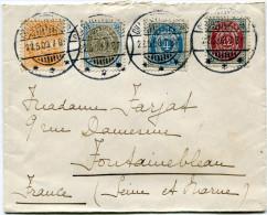 DANEMARK LETTRE DEPART CHARLOTTENLUND 22-5-03 POUR LA FRANCE - 1864-04 (Christian IX)
