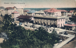 ITALIE - ALASSIO - CPA - Stazione Ferroviaria - Other Cities