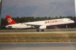 AIRBUS A 321 231   ATLASJET INTERNATIONAL   TC ETJ     EDITEUR  AVIMAGE - 1946-....: Moderne