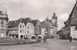 67 WISSEMBOURG  Carte PHOTO CAP N°559  Coin De La VILLE Commerces Vieux MARCHE Aux POISSONS - Wissembourg