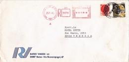 Einschreibe-Brief 1980 (s093) - 6. 1946-.. Republic