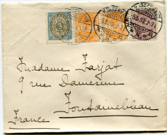 DANEMARK LETTRE DEPART KJOBENHAVN 5-5-03 POUR LA FRANCE - 1864-04 (Christian IX)