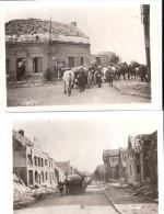 PHOTO AMATEUR GUERRE 1940 HORNAING LILLE VALENCIENNES COMBAT ARMEE FRANCAISE - 1939-45