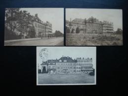 Cpa/pk BRUXELLES - Institut De Puériculture Et D'Orthopédie,rue Chant D'Oiseaux. 3 Cartes - Gezondheid, Ziekenhuizen