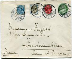 DANEMARK ENTIER DEPART KJOBENHAVN 18-5-03 POUR LA FRANCE - 1864-04 (Christian IX)